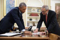 Obama Podesta UFO