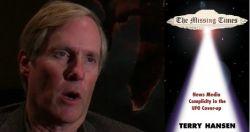 Terry Hansen dies dead UFO